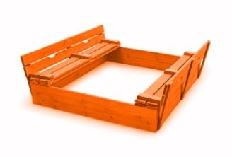 Песочница деревянная 1.34 1.34 1.34 1.34