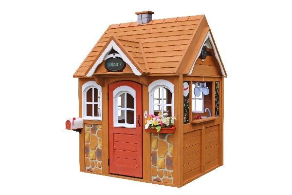 Детский деревянный домик 9.70 9.70 9.70 9.70