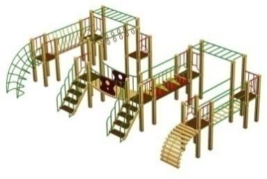 Детский гимнастический комплекс 14.31 14.31 14.31 14.31