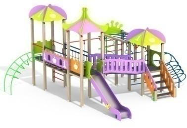 Детский игровой комплекс 10.107 10.107 10.107 10.107