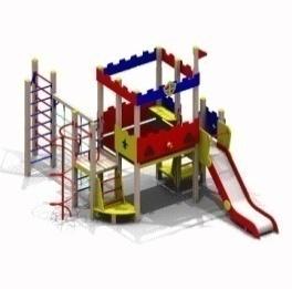 Детский игровой комплекс «Форт» 10.48 10.48 10.48 10.48