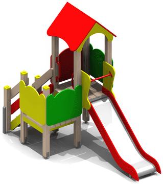 Детский игровой комплекс 10.24 10.24 10.24 10.24