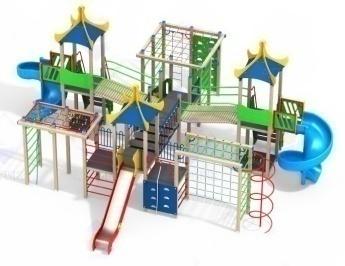 Детский игровой комплекс 10.55 10.55 10.55 10.55