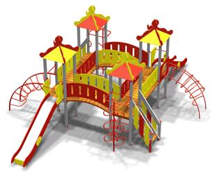 Детский игровой комплекс 10.56 10.56 10.56 10.56