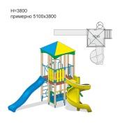 Детский игровой комплекс 10.135 10.135 10.135 10.135