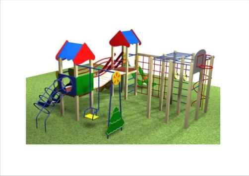 Детский игровой комплекс 10.71 10.71 10.71 10.71