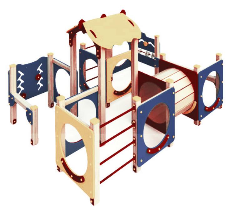 Детский игровой комплекс 10.112 10.112 10.112 10.112