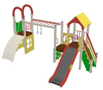 Детский игровой комплекс 10.115 10.115 10.115 10.115