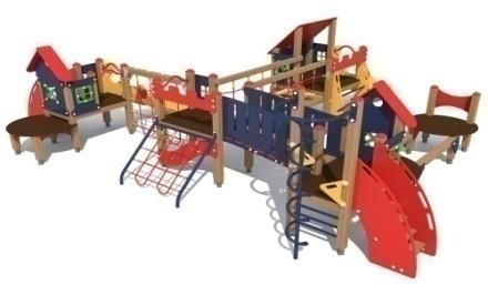 Детский игровой комплекс 10.98 10.98 10.98 10.98