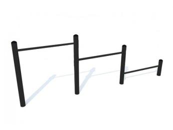 Перекладины для отжимания и подтягивания (цельнометаллические) 16.8 16.8 16.8 16.8