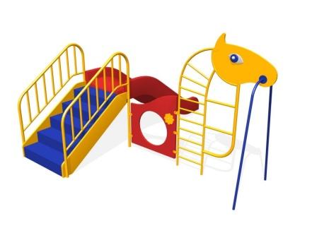 Горка — лазалка лошадка, Н=650мм 4.11 4.11 4.11 4.11