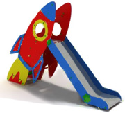 Горка ракета, Н=900мм 4.51 4.51 4.51 4.51