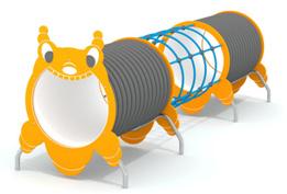 Игровой элемент «гусеница-тонель» 9.50 9.50 9.50 9.50