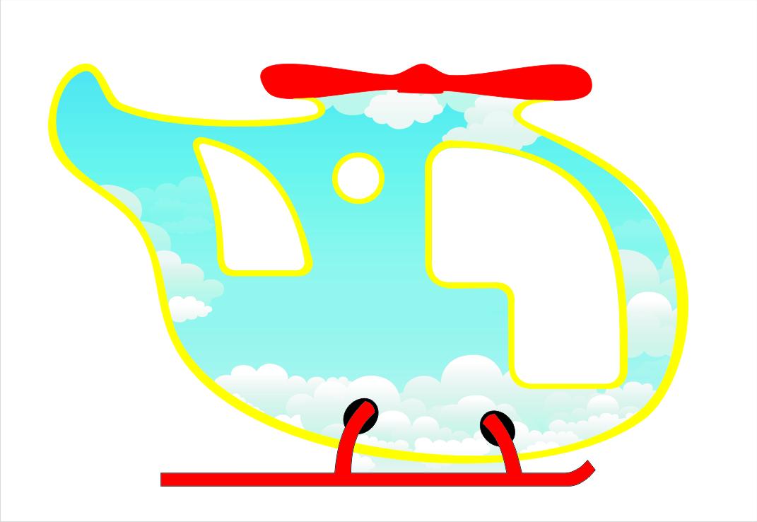 Игровой модуль вертолёт 9.70 9.70 9.70 9.70