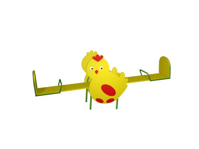 Качалка-балансир цыпленок 6.10 6.10 6.10 6.10