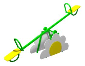 Качалка-балансир «ромашка» 6.15 6.15 6.15 6.15