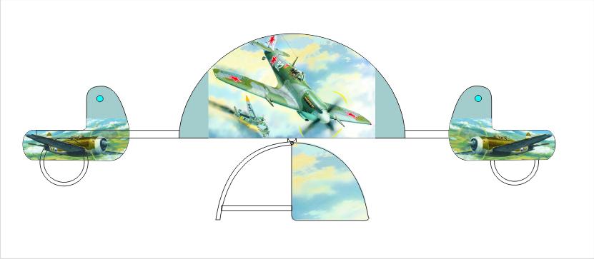 Качалка-балансир «Воздушный бой» 6.29 6.29 6.29 6.29