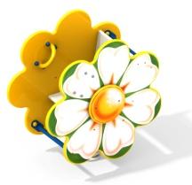 Качалка на пружине цветок 7.42 7.42 7.42 7.42
