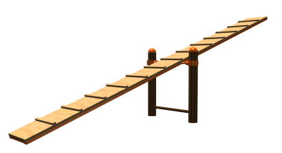 Качели-балансир для собак 23.5 23.5 23.5 23.5