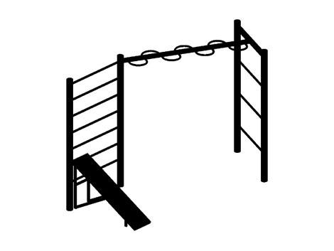Комплекс: шведская стенка, змейка, скамья для пресса (цельнометаллические) 16.37 16.37 16.37 16.37