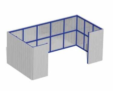 Площадка для мусорных контейнеров 21.5 21.5 21.5 21.5