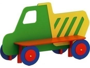 Скамейка детская «грузовик» 19.31 19.31 19.31 19.31