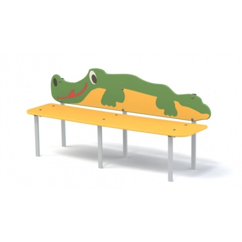 Скамейка детская «крокодил» 19.43 19.43 19.43 19.43