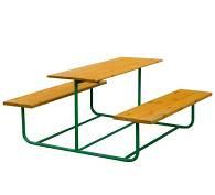 Стол со скамьями 19.9 19.9 19.9 19.9