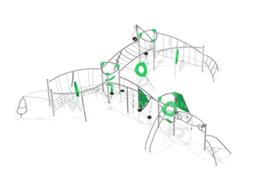 Конструкция из каната 3000x17400x15200